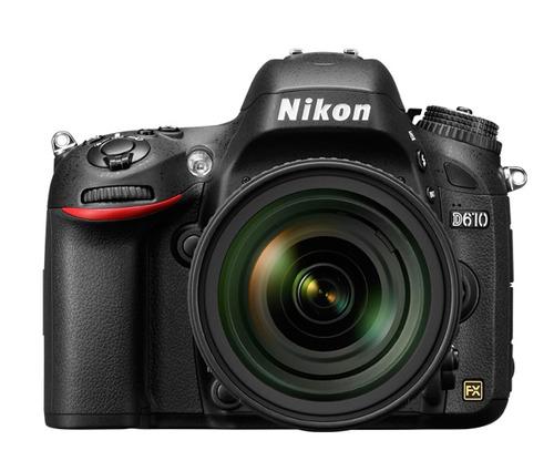 cámara nikon d610 + lente 24/85mm sd 16gb/ trípode/ maletín