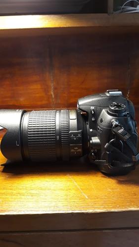 cámara nikon d7000 con accesorios