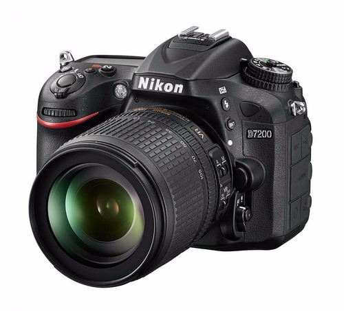 cámara nikon d7200 24.1 mp dx con 18-105mm vr wifi nfc nueva