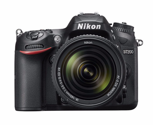 cámara nikon d7200 24.1 mp dx con 18 140mm nueva vr wifi nfc