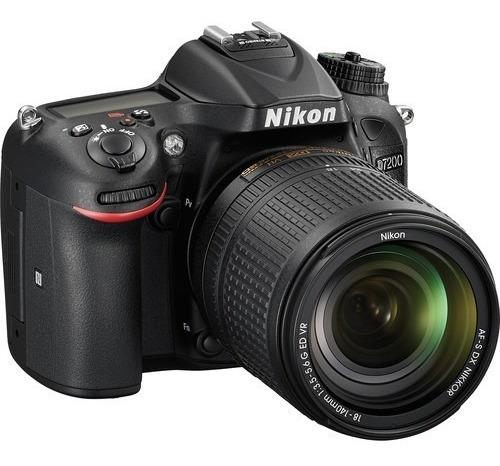 camara nikon d7200 24.2mp 18-140mm hd 1080p cmos dx wi-fi
