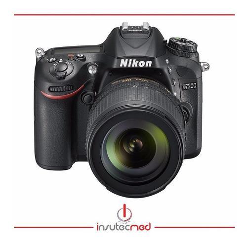 cámara nikon d7200 con lente 18-105mm - 24.2mpx, wifi