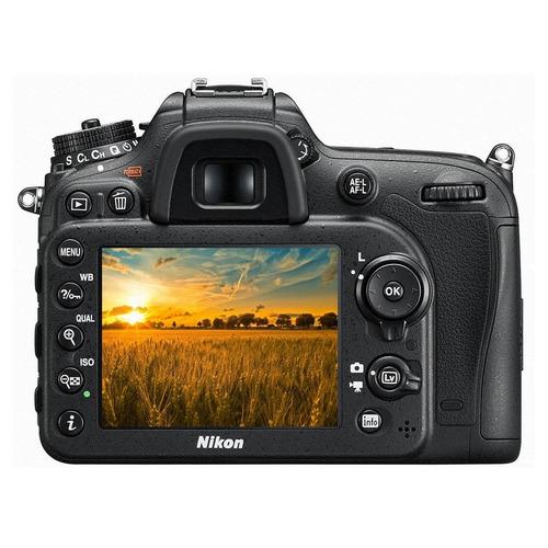 cámara nikon d7200 dslr kit 18-140mm vr full hd wifi 24.2 mp
