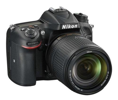 cámara nikon d7200 kit 18-140mm
