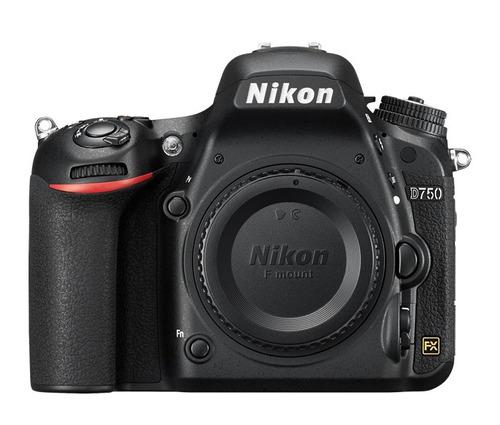 cámara nikon d750 body + grip mb-d16