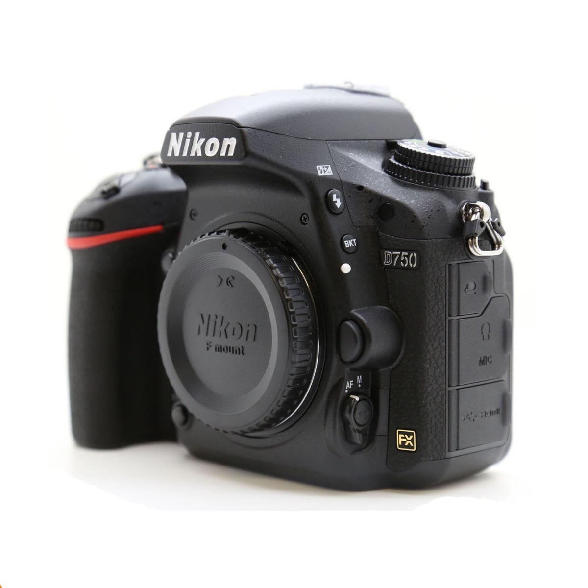 4da008bdfb Camara Nikon D750 Fx-format Body Mendoza - $ 68.999,00 en Mercado Libre