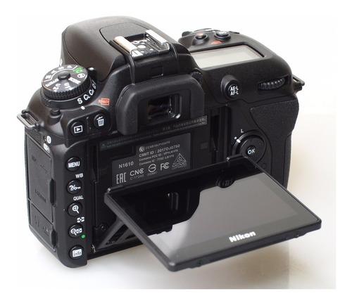 camara nikon d7500 + lente 18-140 videos 4k 100% original