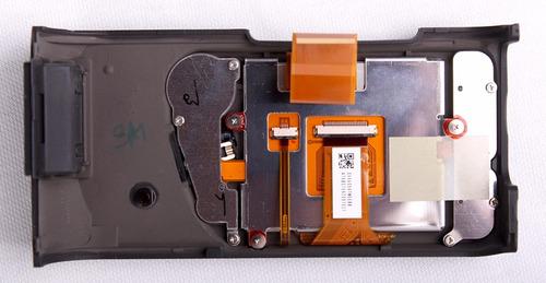 cámara nikon d80 monitor y carcasa trasera