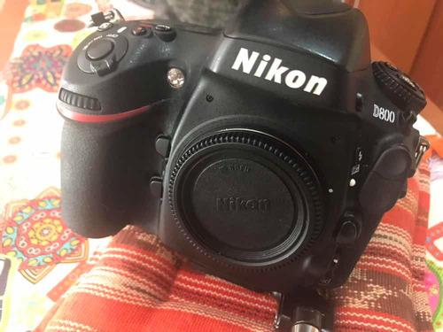 camara nikon d800 fx usada