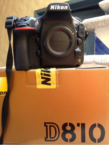 cámara nikon d810 36mp fullframe 35mm recibo iphone