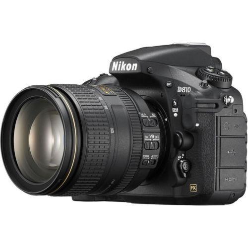 cámara nikon d810 dslr con lente de 24-120 mm