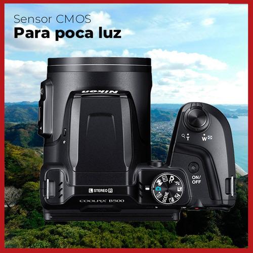 camara nikon digital coolpix b500 zoom hd x40+ 32gb+ bolso