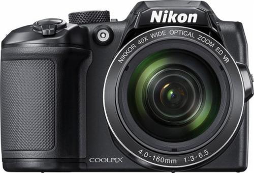 camara nikon digital coolpix b500 zoom x40 hd + bolso + 32gb