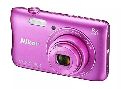 camara nikon digital coolpix s 3700 wi-fi, nfc