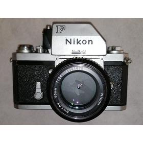 Cámara Nikon F +photomic +lente Nikkor 50mm F1. 4