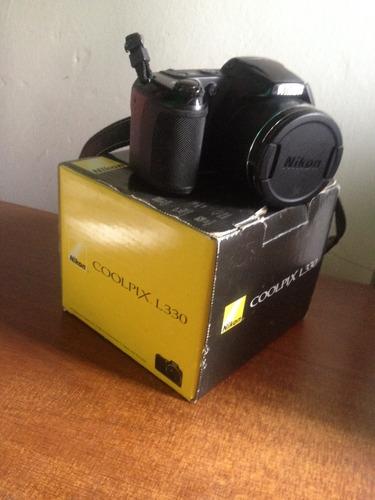 camara nikon l330. 20.2 mp, como nueva