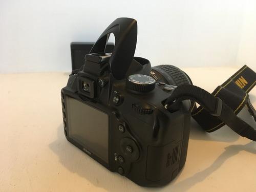 cámara nikon lente