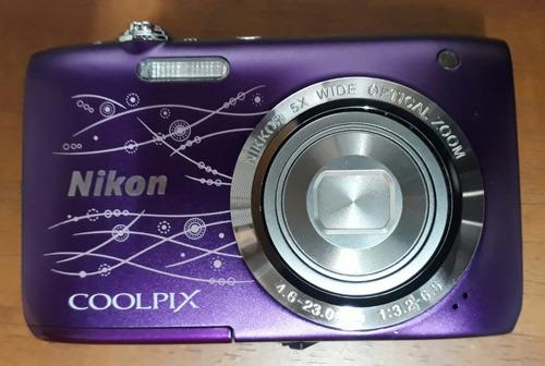 cámara nikon línea coolpix