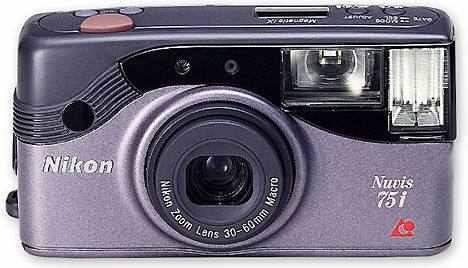 cámara nikon nuvis 75i zoom óptico 3x aps comprada alemania