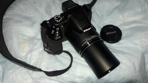 cámara nikon p610 wi-fi, 16 mp, zoom óptico 60x full hd