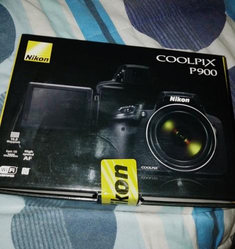 cámara nikon p900 zoom 83x