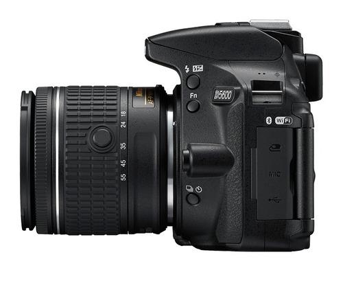 cámara nikon prof d5600 dslr + lente 18-55 ¡envío inmediato!