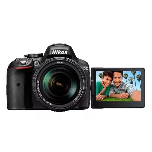 cámara nikon reflex d5300 kit 18-55 mm