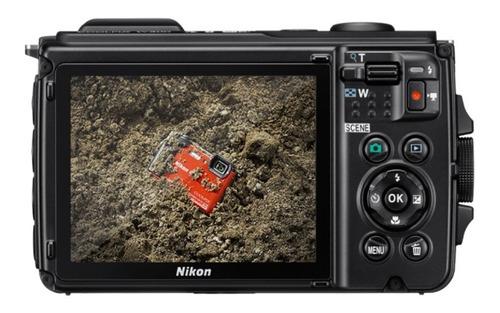 cámara nikon sumergible coolpix w300 + sd 16gb