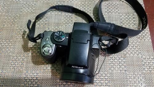 camara nixon coolpix p80, usada con varios accesorios