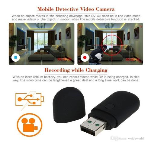 camara oculta pendrive espia graba voz video con bateria