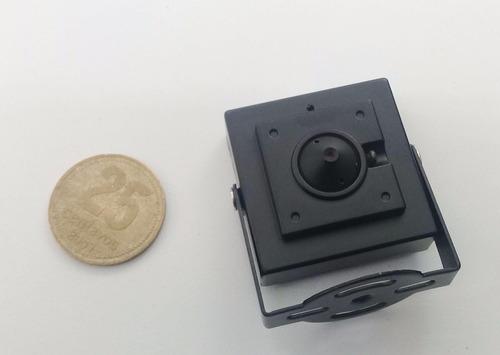 cámara oculta tipo pin hole 4 en 1 (ahd - tvi - cvi - cvbs)