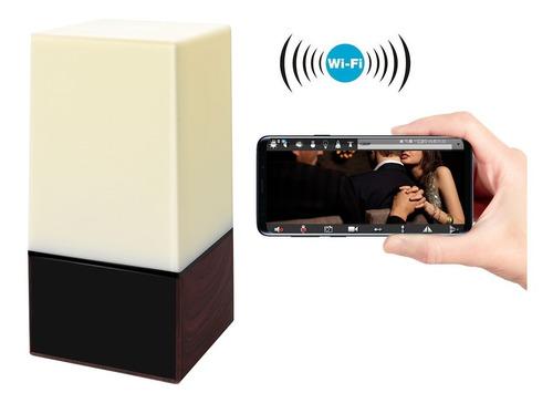 cámara oculta velador espía graba 64 gb, con luces y diseño