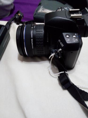 camara olimpus e -420 con lente, excelente estado 100%