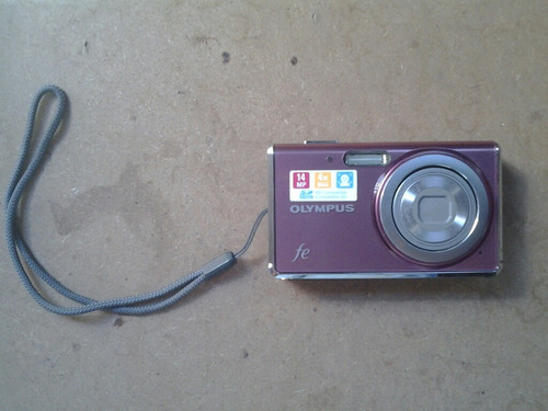 cámara olimpus fe-4020 14mpx