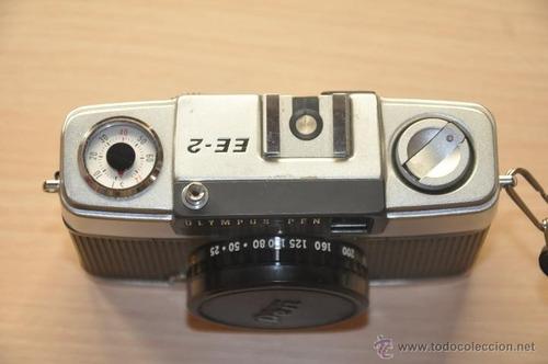 cámara olimpus pen ees-2 de 1968-1971 colección
