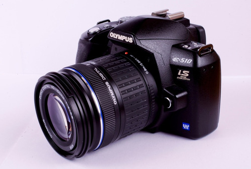 cámara olympus e-510 con zuiko digital 40-150/4.0-5.6