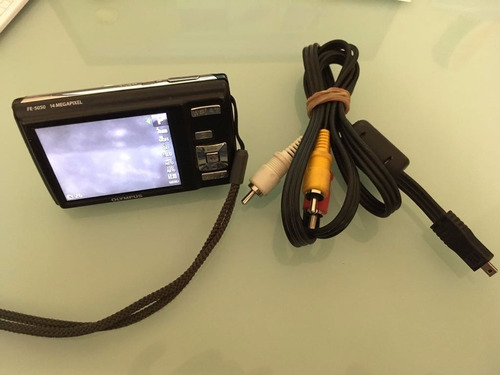 camara olympus fe5050 14mp para refacciones sin cable usb
