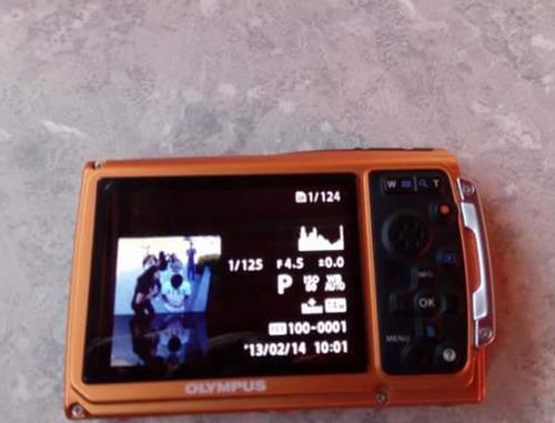 cámara olympus sumergible y antigolpes