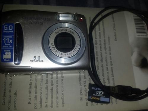 cámara olympus x 715