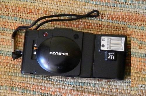 camara olympus x a 2 con flash a11