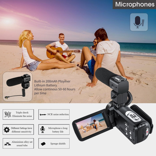 cámara ordro wifi de vídeo videocámara full hd 1080p digita