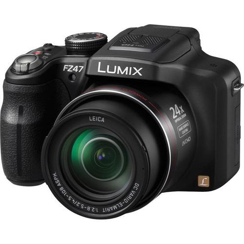 camara panasonic lumix dmc-fz47 12.1 megapixeles 3d