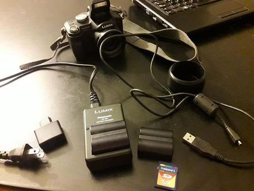 cámara panasonic lumix dmc-fz8 semi-profesional