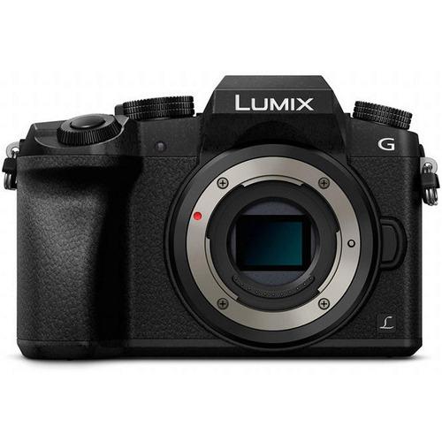 cámara panasonic lumix dmc-g7 (solo cuerpo) 16mpx, 4k uhd