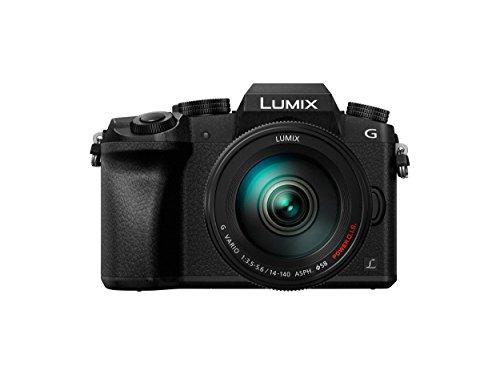 camara panasonic lumix dmc-g7hk dslm mirrorless 4k camera