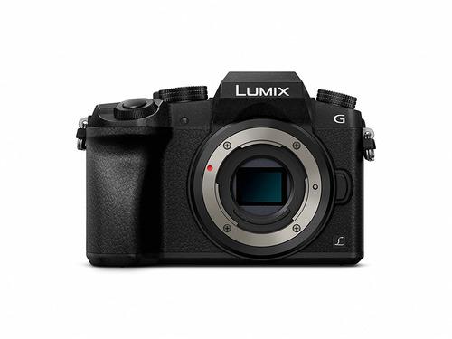camara panasonic lumix dmc-g7kk dslm mirrorless 4k camera