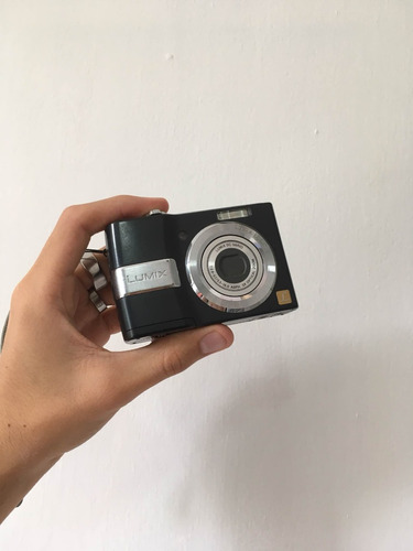 cámara panasonic lumix dmc-ls80 8.1 mp