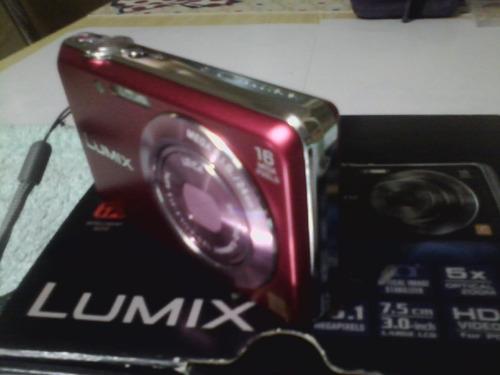 camara panasonic lumix fh8 full hd 16.1 mp