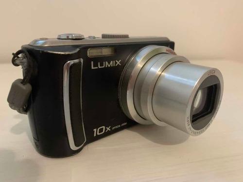 camara panasonic lumix tz4 zoom optico 10x buen estado!