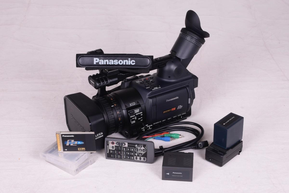 Camara Panasonic P2 Hd 2 Memorias 32 Gb Control Ag-hvx200p ...